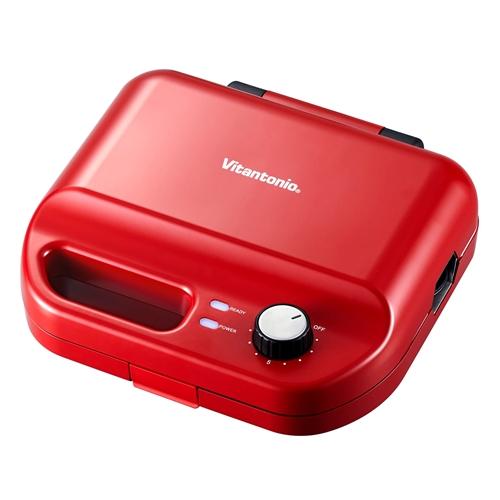 ビタントニオ 激安通販 通信販売 VWH-50-R ホットサンドベーカー ワッフル