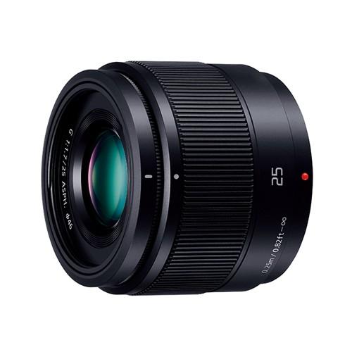 パナソニック H-H025-K 交換用レンズ LUMIX G 25mm/F1.7 ASPH.【マイクロフォーサーズマウント】(ブラック)