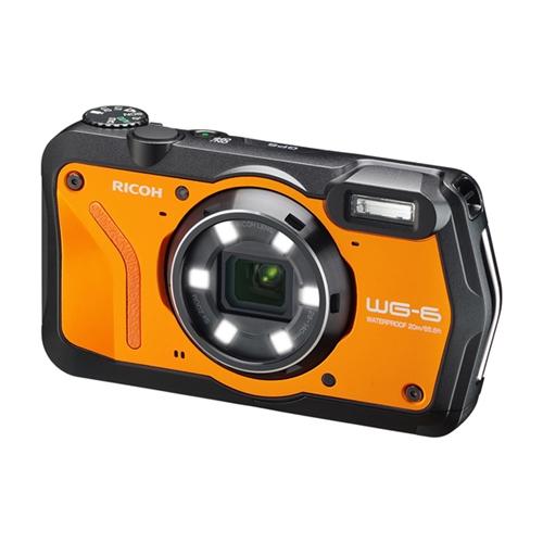 リコー WG-6 コンパクトデジタルカメラ オレンジ