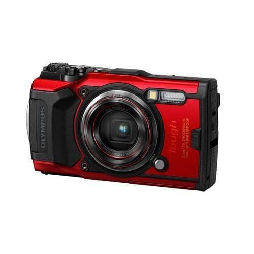 オリンパス TG-6 デジタルカメラ Tough(タフ) レッド