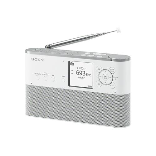 ソニー ICZ-R260TVC ポータブルラジオレコーダー 16GB W