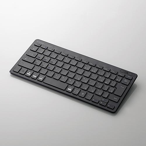 キーボード エレコム Bluetooth 無線 Bluetooth薄型ミニキーボード 低価格化 送料0円 ワイヤレス TK-FBP100BK