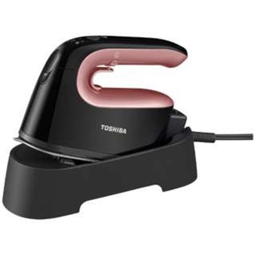 東芝 TAS-X5-R 衣類スチーマー ローズレッド ハンガーショット機能付き