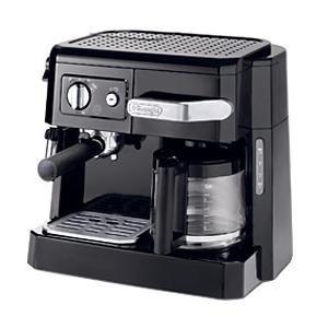 デロンギ ≪エスプレッソマシン兼用≫コーヒーメーカー BCO410J-B ブラック