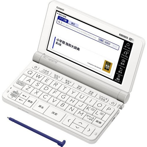 カシオ XD-SX7100 電子辞書「エクスワード(EX-word)」 (ドイツ語モデル・67コンテンツ収録) ホワイト