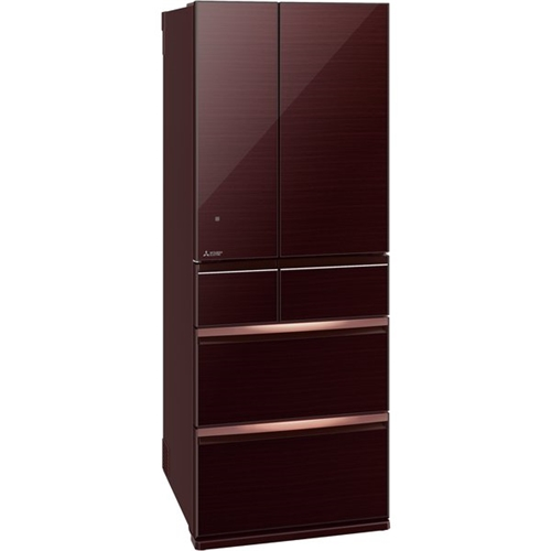 【無料長期保証】三菱電機 MR-WX60F-BR 6ドア冷蔵庫 WXシリーズ (600L・フレンチドア) クリスタルブラウン