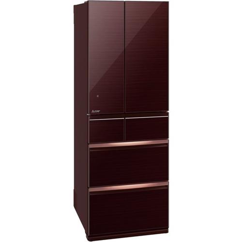 【無料長期保証】三菱電機 MR-WX52F-BR 6ドア冷蔵庫 WXシリーズ (517L・フレンチドア) クリスタルブラウン
