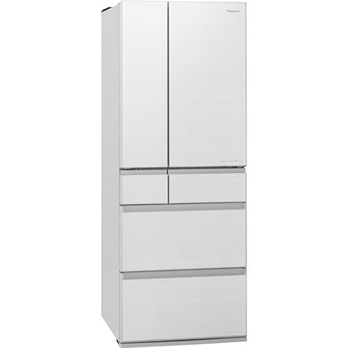 【無料長期保証】パナソニック NR-F606HPX-W 6ドアパーシャル冷蔵庫 (600L・フレンチドア) アルベロホワイト