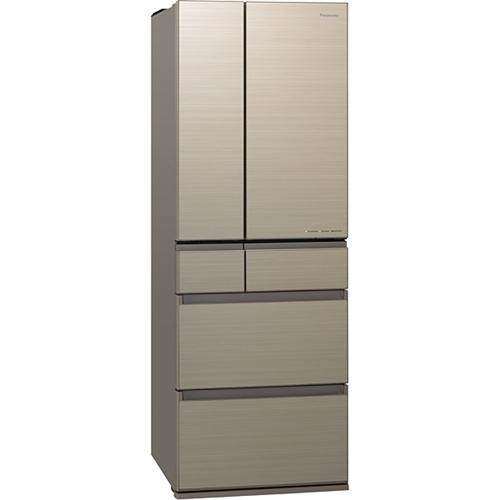 【無料長期保証】パナソニック NR-F506HPX-N 6ドアパーシャル冷蔵庫 (500L・フレンチドア) アルベロゴールド