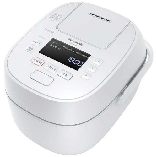 パナソニック SR-MPW100 IHジャー炊飯器 Wおどり炊き 5.5合 ホワイト