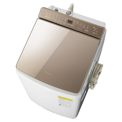 【無料長期保証】パナソニック NA-FW90K8-T 縦型洗濯乾燥機 (洗濯9kg・乾燥4.5kg) 泡洗浄 ブラウン