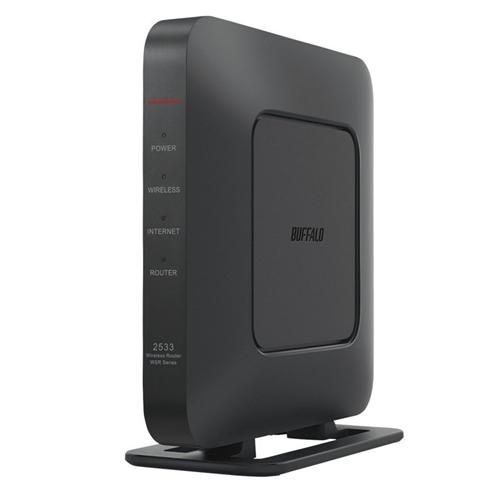 無線ルーター バッファロー Wi-Fi 新登場 ブラック BUFFALO 好評受付中 WSR-2533DHPL2-BK