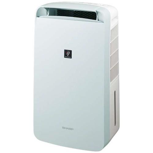 シャープ CM-L100-W 冷風・衣類乾燥除湿機 アイスホワイト