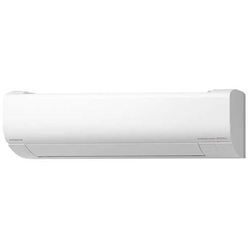 【無料長期保証】【標準工事費込】日立 RAS-W22K-W エアコン 白くまくん Wシリーズ (6畳用) スターホワイト