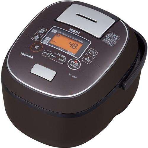 【無料長期保証】東芝 RC-10VRP(TS) 真空IH炊飯器 5.5合炊き 鍛造かまど銅釜 ディープブラウン