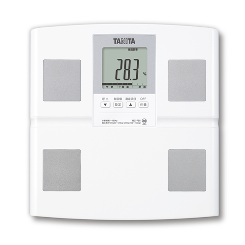 タニタ ブランド買うならブランドオフ 人気ブランド多数対象 BC-765-WH 体組成計 体重計 ホワイト