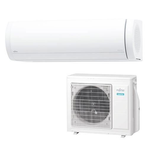 【無料長期保証】【標準工事代込】富士通ゼネラル AS-XW25K-W エアコン 「ノクリア XWシリーズ」加湿器セットモデル (8畳用) ホワイト