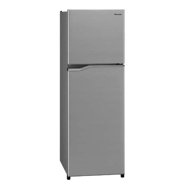 【無料長期保証】パナソニック NR-B250T-SS 2ドア冷蔵庫 (248L・右開き) シャイニーシルバー
