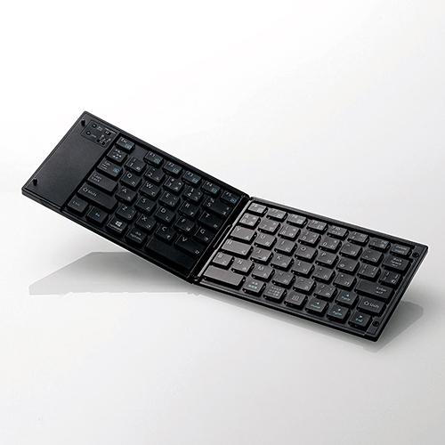 エレコム TK-FLP01BK ワイヤレスBluetoothキーボード 人気ブランド多数対象 セール ブラック