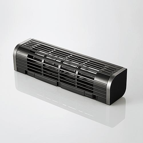 エレコム 格安店 FAN-U177BK USB扇風機 多機能タイプ オープニング 大放出セール ブラック