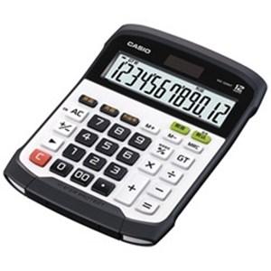 CASIO WD-320MT-N 防水防塵電卓 12桁 ブラック&ホワイト