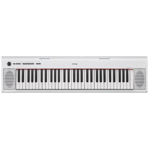 ヤマハ NP-12WH 電子キーボード piaggero ホワイト お見舞い 迅速な対応で商品をお届け致します ピアジェーロ 61鍵盤