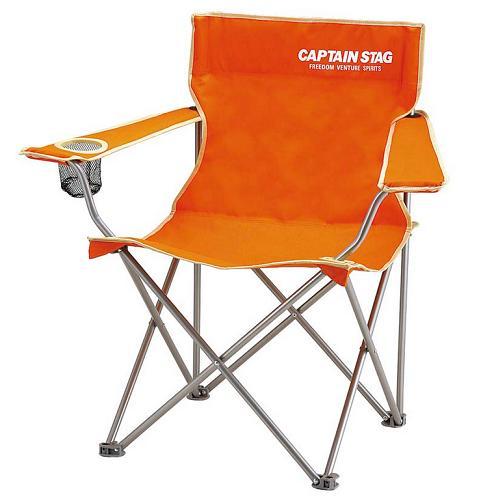 CAPTAIN STAG M-3913 キャプテンスタッグ ラウンジチェア 正規販売店 オレンジ パレット typeII ◆在庫限り◆