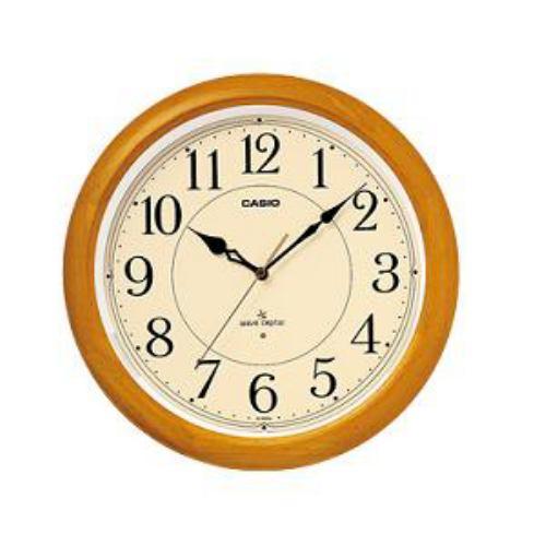 低廉 カシオ IQ-1150NJ-7JF いつでも送料無料 電波時計 アナログタイプ 壁掛け時計