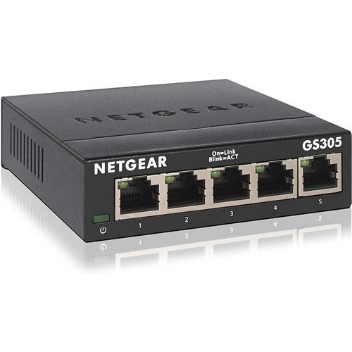 NETGEAR GS305-300JPS 35%OFF スイッチングハブ 送料無料お手入れ要らず