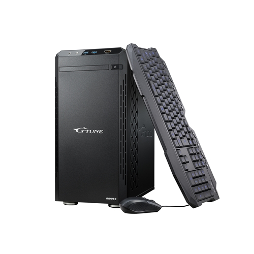 マウスコンピューター PCYDI97G206SH20C デスクトップPC ブラック