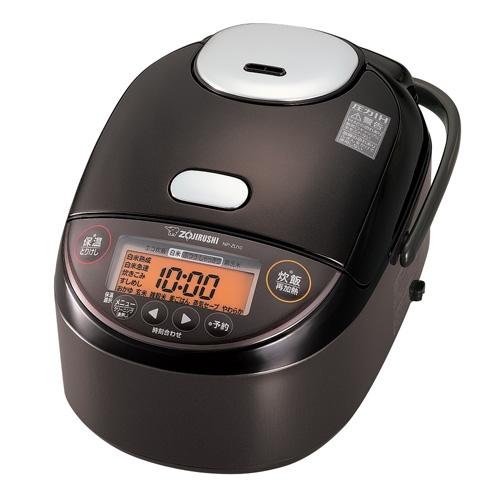 象印 NP-ZU10-TD 圧力IH炊飯ジャー 5.5合炊き ダークブラウン
