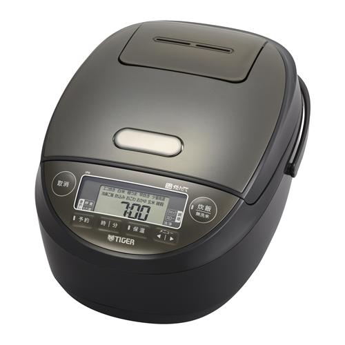 炊飯器 タイガー JPK-H100K 圧力IH炊飯器 炊きたて 5.5合炊き ブラック 5.5合:ヤマダ電機 店