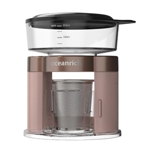 商品 毎日がバーゲンセール UNIQ UQ-ORS3PRG 自動ドリップコーヒーメーカー oceranirch 250ml ローズゴールド