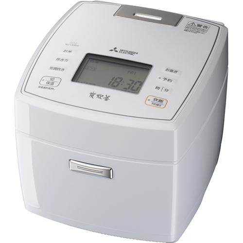 三菱電機 NJ-VEB10-W IHジャー炊飯器 5.5合炊き 月白