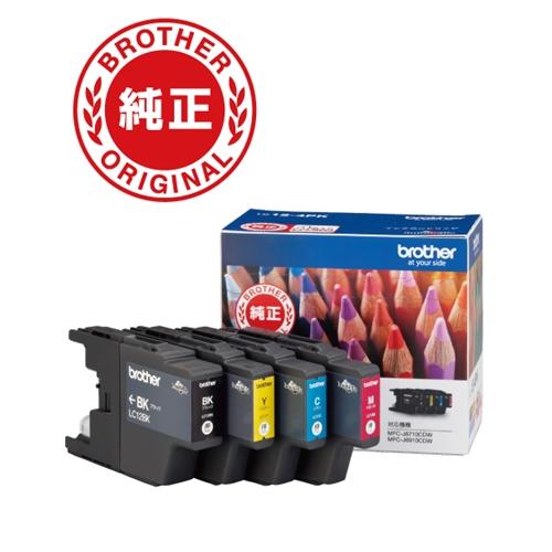インク ブラザー 期間限定今なら送料無料 純正 4色セット 純正インクカートリッジ カートリッジ 5%OFF