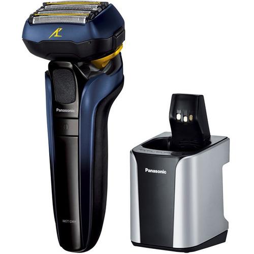 パナソニック ES-CLV7T-A メンズシェーバー ラムダッシュ リニアモーター5枚刃 全自動洗浄充電器付 青