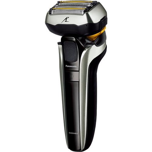 パナソニック ES-CLV9FX-S メンズシェーバー ラムダッシュ リニアモーター5枚刃 全自動洗浄充電器付 収納ケース付 シルバー調