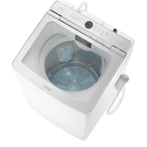 【無料長期保証】AQUA AQW-GVX120J(W) 簡易乾燥機能付き洗濯機 (洗濯・脱水12.0kg) ホワイト