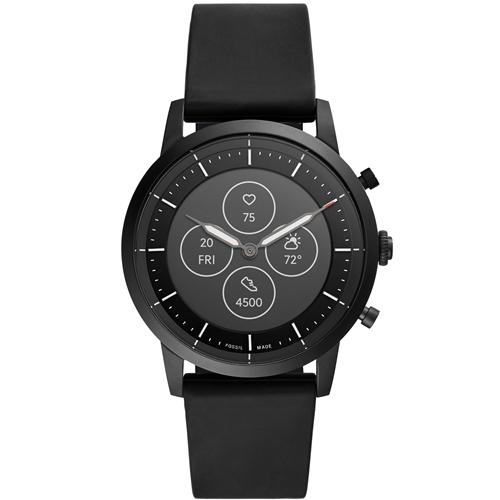 FOSSIL FTW7010 スマートウオッチ 百貨店 Smart Watches 超激安 ブラック HR