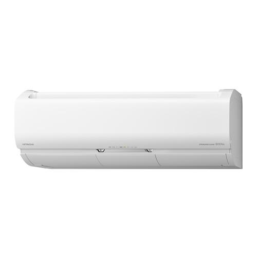 【無料長期保証】【標準工事費込】日立 RAS-X25K-W エアコン 白くまくん Xシリーズ(8畳用) スターホワイト