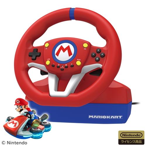 ホリ NSW-204 マリオカートレーシングホイール for Nintendo Switch 日本正規品 海外限定