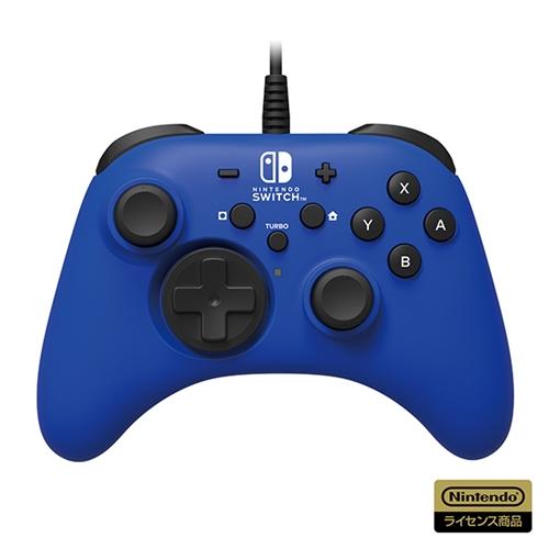 ホリ 全国どこでも送料無料 NSW-155 安い 激安 プチプラ 高品質 ホリパッド for ブルー Nintendo Switch