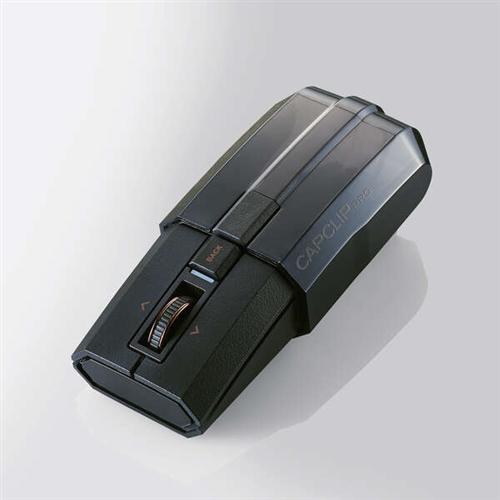 [宅送] エレコム オンライン限定商品 M-CCP1BBBK Bluetooth5.0マウスCAPCLIP PRO ブラック