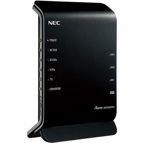 無線ルーター NEC Wi-Fi PA-WG1200HS4 2×2スタンダードモデル 無線LANルータ Aterm 激安 日本産 激安特価 送料無料 2ストリーム