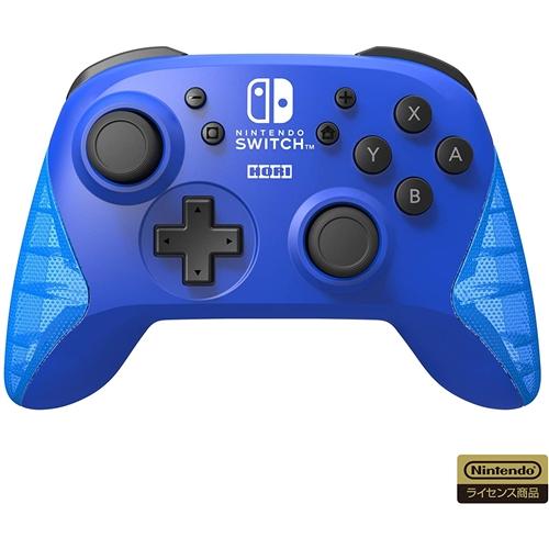 ホリ 新入荷 流行 NSW-174 ワイヤレスホリパッド for Nintendo Switch ブルー 激安通販専門店
