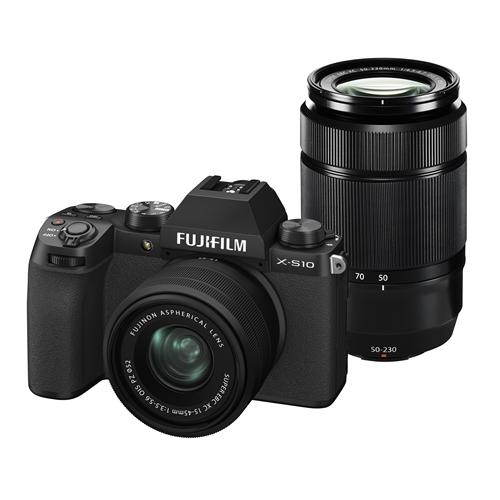 富士フイルム FXS10 2020秋冬新作 WZLK B ブラック Xシリーズ 大特価!! ミラーレス一眼カメラ