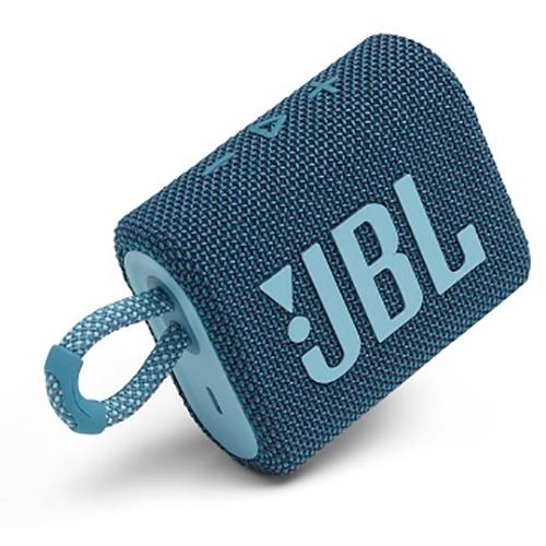 <title>ジェイビーエル JBLGO3BLU JBL 数量は多 Go 3 ポータブルBluetoothスピーカー ブルー</title>