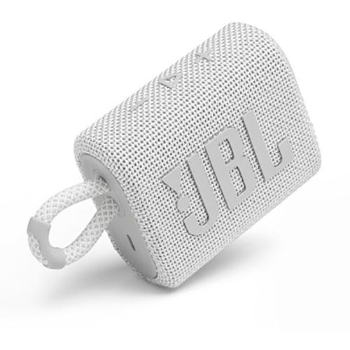 <title>ジェイビーエル おしゃれ JBLGO3WHT JBL Go 3 ポータブルBluetoothスピーカー ホワイト</title>