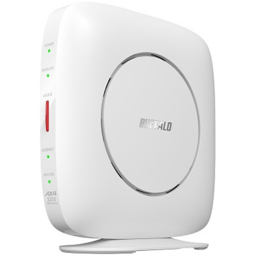 BUFFALO バッファロー WSR-3200AX4S-WH Wi-Fiルーター 親機 2401+800Mbps 新作送料無料 新着 6 Wi-Fi 11ax ホワイト AirStation