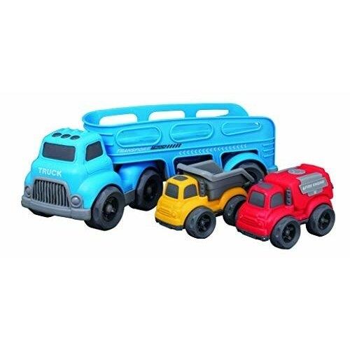 ジョーゼン ビークルタウン 新発売 キャリアカー ダンプカー 人気 おすすめ 消防車セット